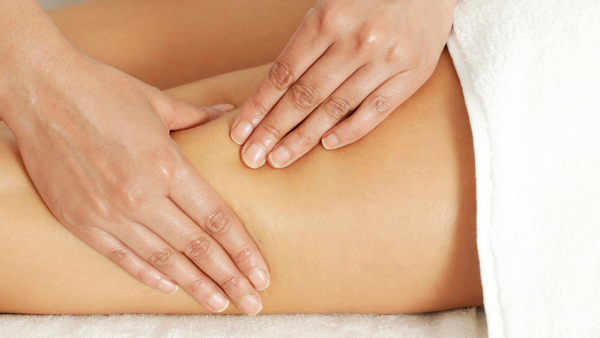 Lymphoedema massage and manual drainage