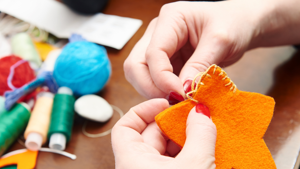 Get crafty with Ovacome: felt animals