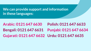 About our community language support service