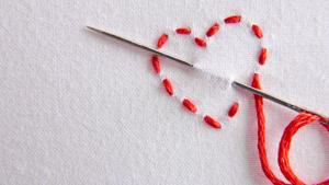 Get crafty with Ovacome: embroidery